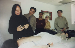 Doctor Ma with UCLA students